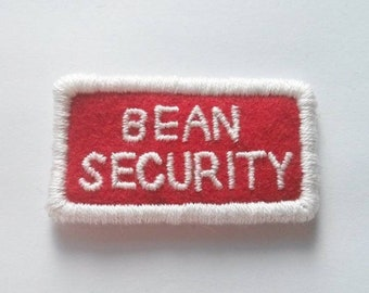 """Fantastic Mr Fox Costume Bean Security Embroidered Patch - Wes Anderson 2"""""""