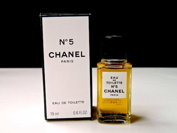 Vintage Chanel N 5 Parfum Eau De Toilette Ml 1966 Oz Etsy