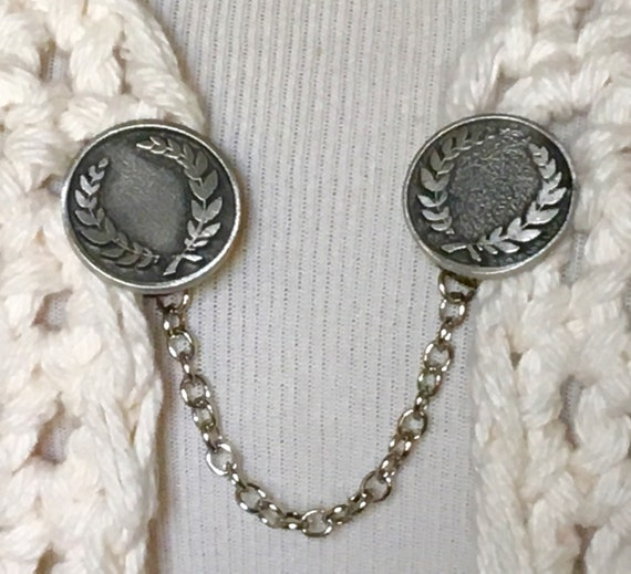The mattie lead free pewter dragonfly sweater clip