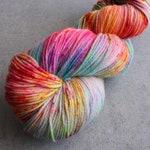 Candy Beach | 4-ply Sock | PurrMaid Base - Beautiful Superwash Merino/Nylon Sock yarn -  437 yards