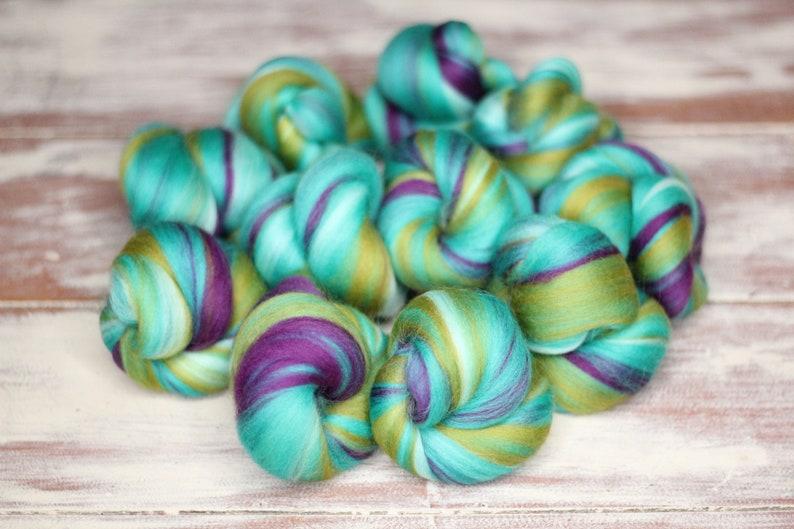 Woolly Buns  'Shambala Kingdom'  Merino fibers image 0