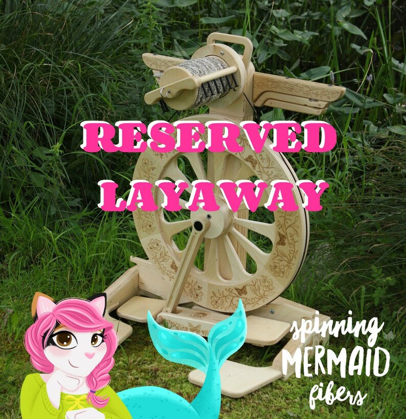 Layaway  RESERVED SpinOlution  Monarch Traditional Package image 0