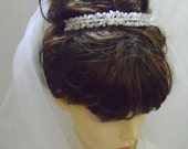 Cally - Swarovski Crystal Bridal Tiara