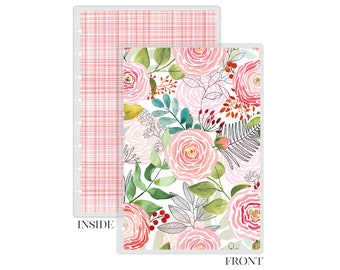 Replacement Planner Cover Discbound Now Roses