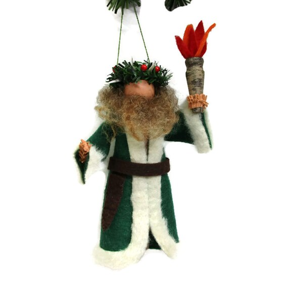 Ghost Of Christmas Present Costume.Ghost Of Christmas Present Clothespin Ornament Christmas Ornament Peg Doll Christmas Carol Ornament Exchange Ebenezer Scrooge