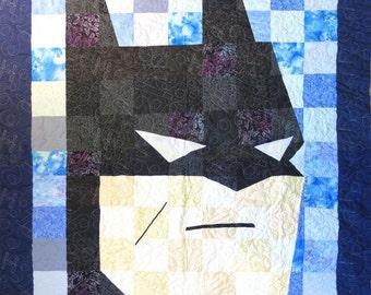 Batman Quilt - Crib