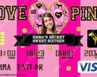 f42202aa2de9 Victoria secret pink invitations