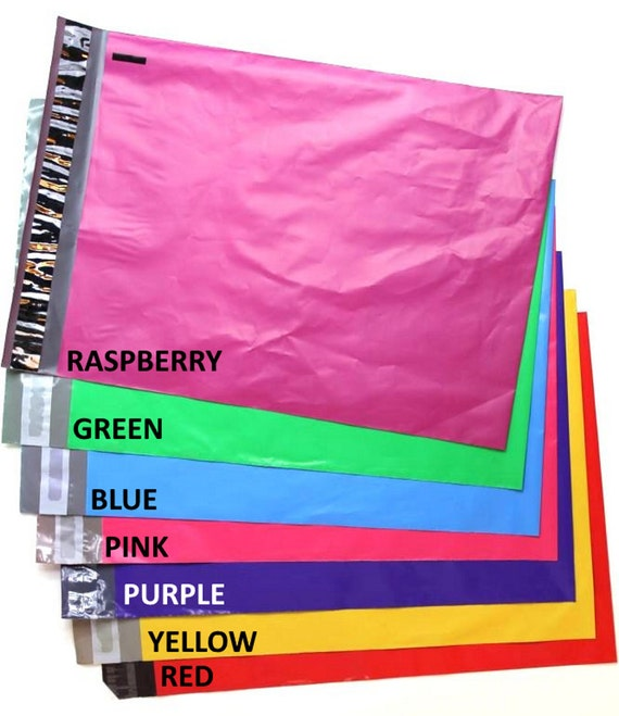 10x13 bags shipping labels color combo etsy