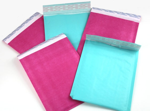 10 Hot Pink 6 x 9 Bubble Mailer Self Seal Envelope Padded Protective Mailer