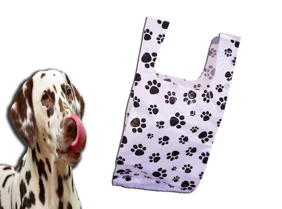 791c44e2f 8x16 PawPrint Plastic Merchandise Bags Paw Print T-Shirt   Etsy