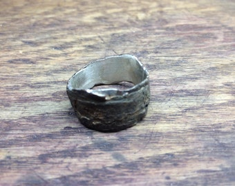 Birch Bark Ring