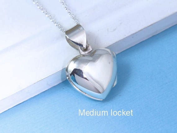 17mm x 14mm Solid 925 Sterling Silver Vintage Antiqued Truth Heart Pendant Charm