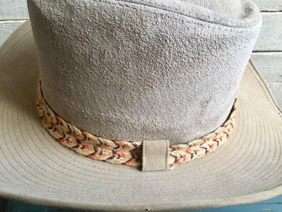 Resistor suede cowboy hat - western hat - mens co… - image 6