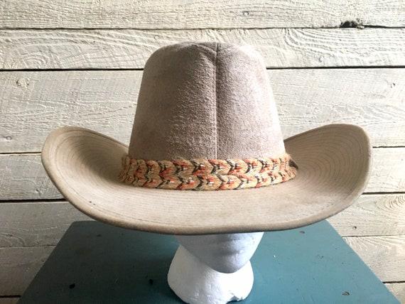 Resistor suede cowboy hat - western hat - mens co… - image 3