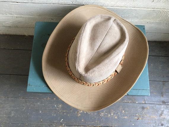 Resistor suede cowboy hat - western hat - mens co… - image 7