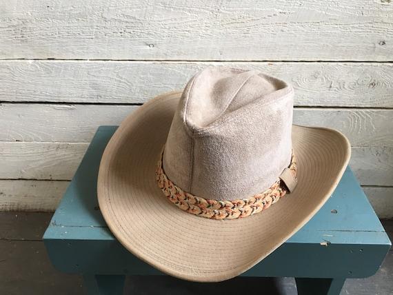 Resistor suede cowboy hat - western hat - mens co… - image 9