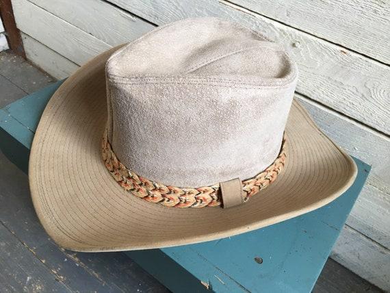 Resistor suede cowboy hat - western hat - mens co… - image 2