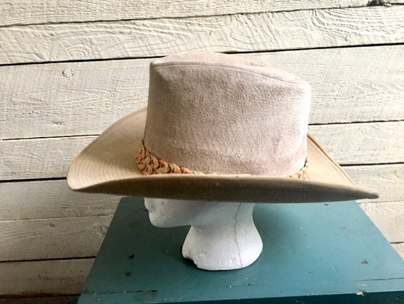 Resistor suede cowboy hat - western hat - mens co… - image 4