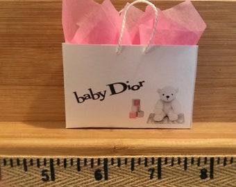 e666104f6b77 XL-40 Miniature shopping bag for Barbie