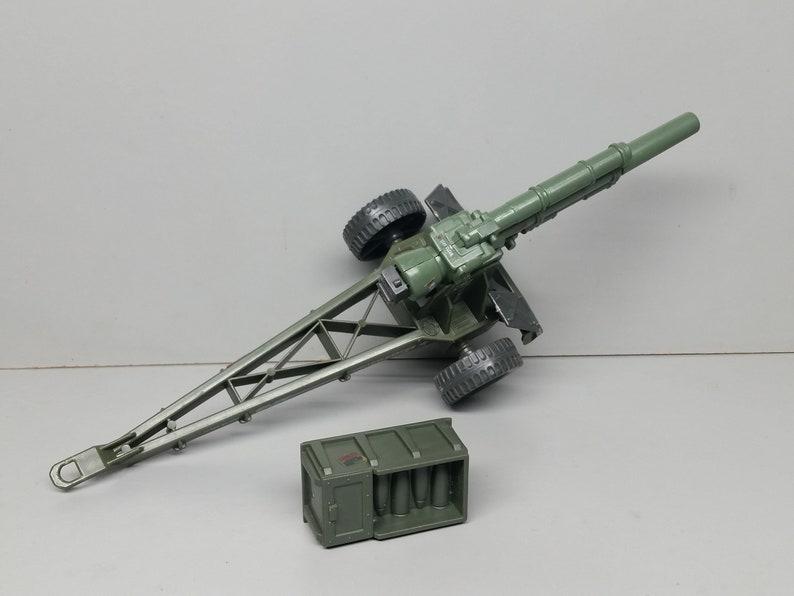 Vintage 1984 Hasbro GI Joe Mountain Howitzer Bomb Playset Part Used