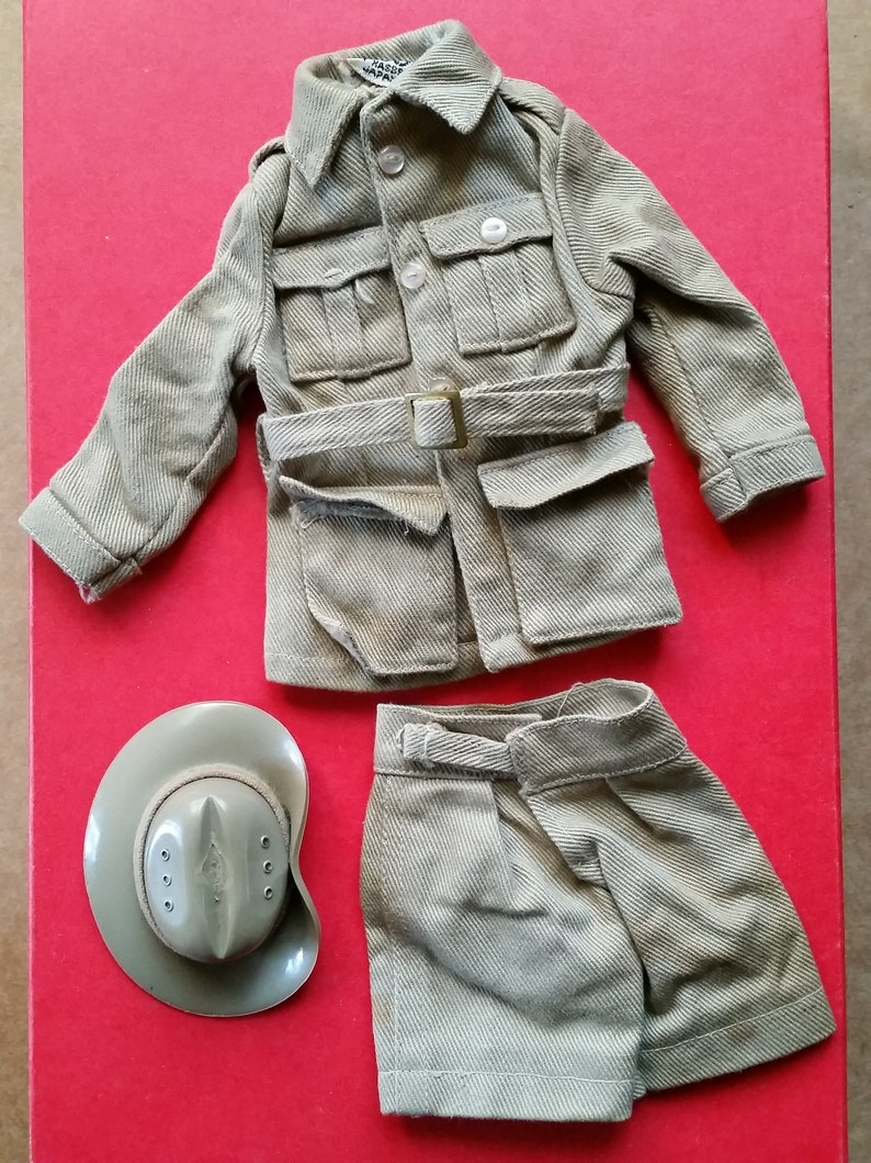 GI Joe Soldiers of the World Australian Jungle Trooper by Hasbro 1966