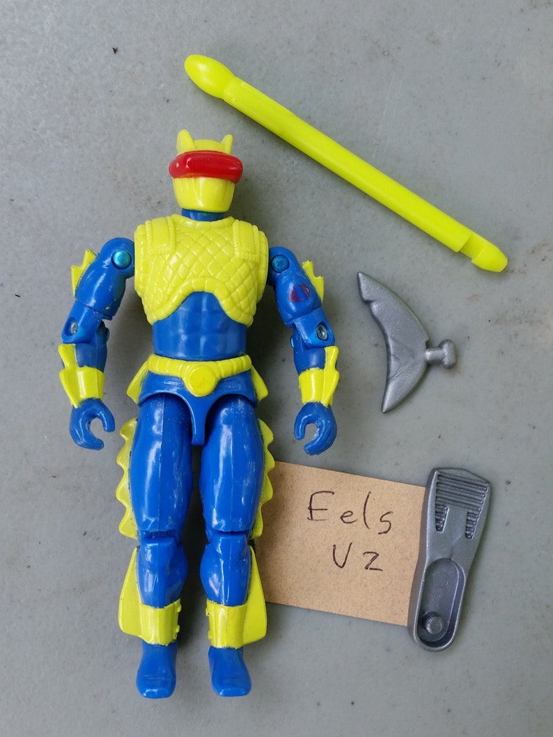 GI Joe Weapon Cobra Eel Missile 1992 Original Figure Accessory