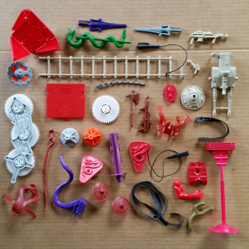 Lot of 1980/'s He-Man Master of the Universe MOTU parts accessories YOU PICK!