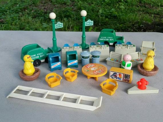 Pièces de jouer la famille Sesame Street fisher-price 938