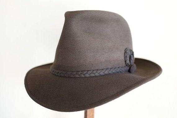 NOS 1930s alpine style fedora, 7