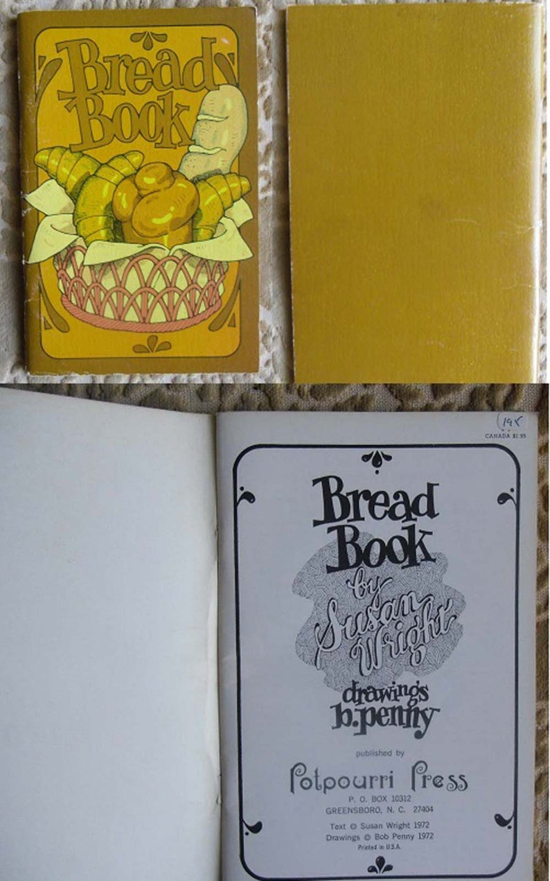 Vintage Cookbooks - Potpourri Press 1970s, 5 Books - Bread Book, Chinese  Cookery, Christmas Cookies & Candies, Crockery Cooking, Omelettes