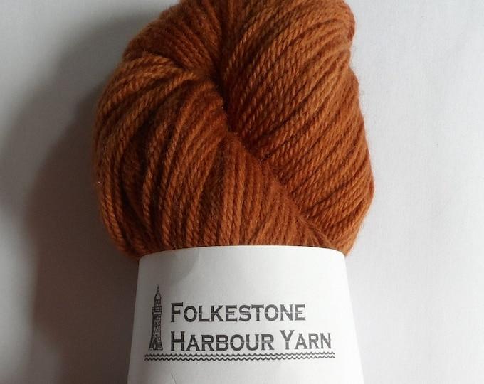 Chestnut Brown Wool Yarn 100g DK Merino 04