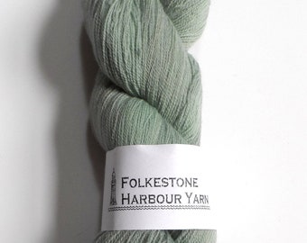 Mountain Green Merino Lace Superwash Wool Yarn 100g #18