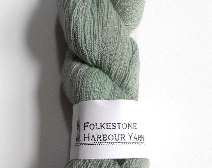 Mountain Green Merino Lace Superwash Wool Yarn 100g #18