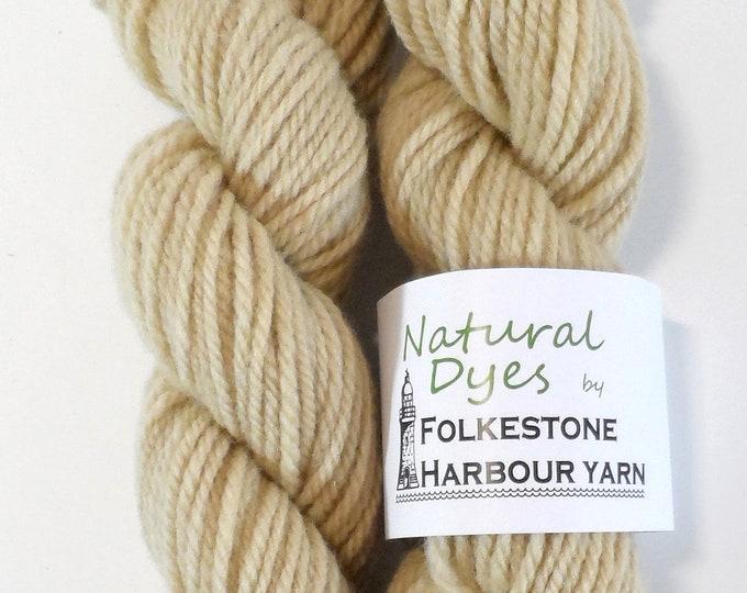 Elderberry Grey Beige 15  Aran Southdown Yarn 50g