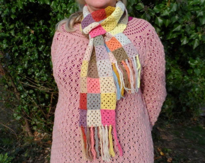 Folklore Scarf Kit    SPECIAL OFFER PRICE   Naturally Dyed Wool