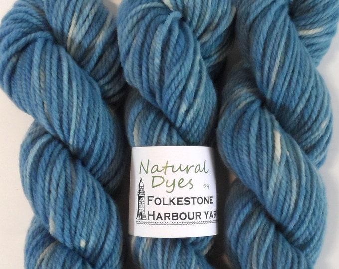 Indigo Denim Blue #27 Aran Southdown Yarn 50g