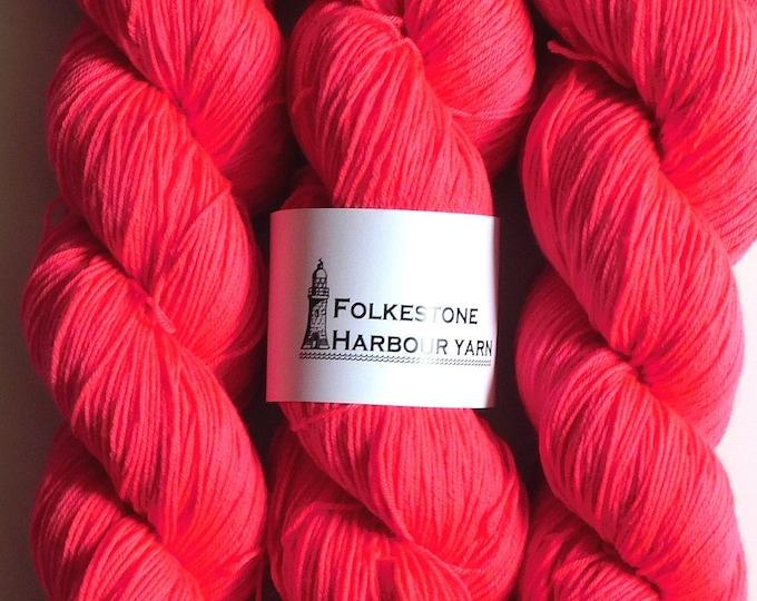 Melita Pink Merino Blend Sock Wool Yarn #31
