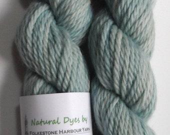 Woad Light Blue Cheviot Chunky Yarn 50g