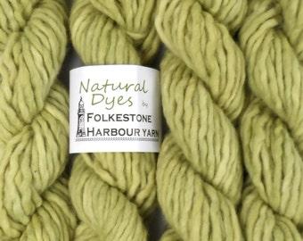 Light Mugwort Green #77 Super Chunky Corriedale Yarn 50g