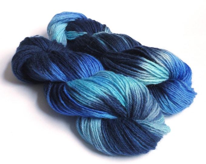 Celestial Variegated Blue Yarn DK Merino