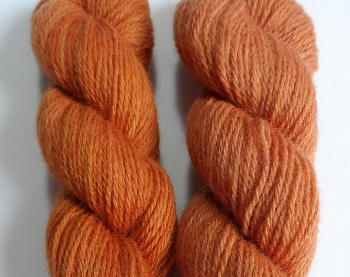 Madder Oranges  2 Tones Available  Romney DK Base