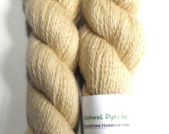 Eucalyptus Light Warm Grey #21 BFL Sock 50g Blue Faced Leicester