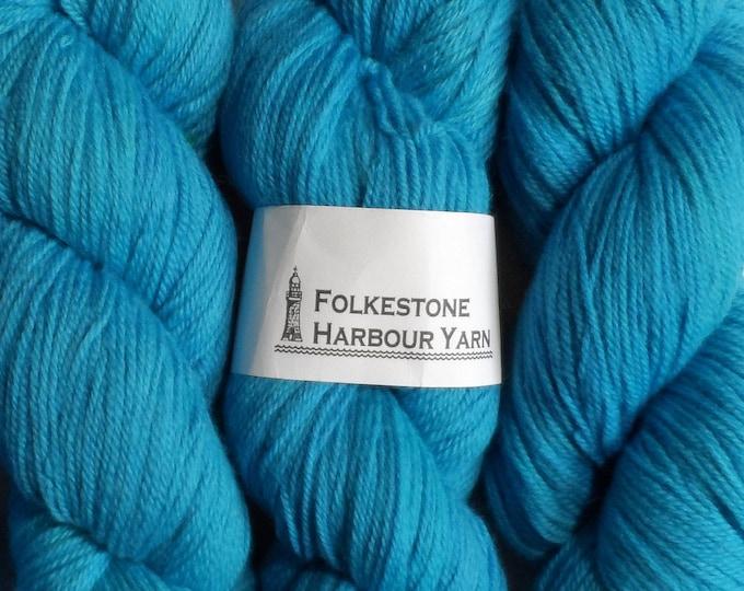 Royal Blue Wool Yarn DK Merino 13