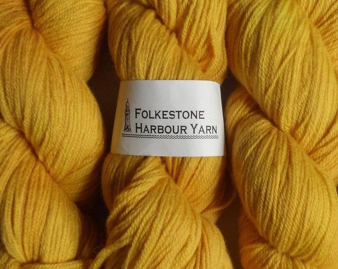 Jarman Yellow Wool Yarn 100g DK Merino 20
