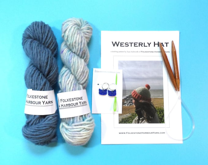 Westerly Hat Kit  3 Sizes   Choose Your Colour Combination
