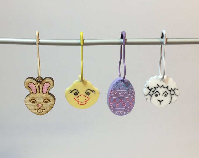 Easter Stitch Marker   set of 4 different designs