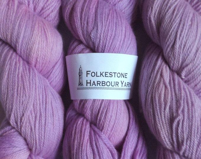Lilac Purple Wool Yarn DK Merino 29