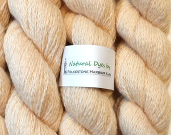 Hint of Pink Cochineal BFL Sock 50g Blue Faced Leicester