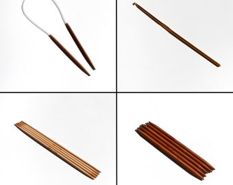 DPN and Circular Metric Sizes Bamboo Knitting Needles   Various Sizes