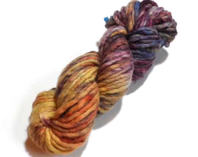 Speckled Iris Super Chunky Merino yarn 100g